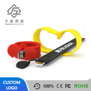 Special Promotion Gift Customized Bracelet Wristband USB Flash Drive