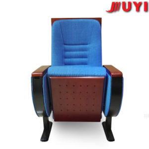 Fashion Design Single Leg High Density Sponge Cushion ISO Verified Flame Retardent Fabric Steel Church Chairs Sale pictures & photos