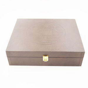 Eco-Friendly Raw Material Wooden Gift Box (J101)