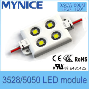IP67 12V/24V Advertising LED Module 4LED Bat-Wing Effect LED Module with Ce RoHS UL pictures & photos
