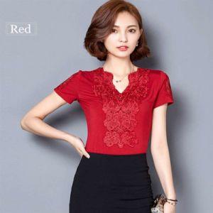 64c45056729c8 Blusa Lace Blouses Shirts Women Tops Tees White Lace Blouse Cotton Plus  Size Shirts
