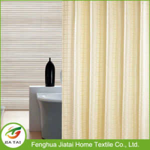 Jacquard Fabric Blackout Curtain Hotel Bath Shower Curtain
