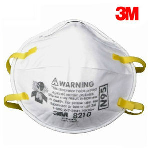N95 Respirator 3m Dust Face Mask 8210 Particulate