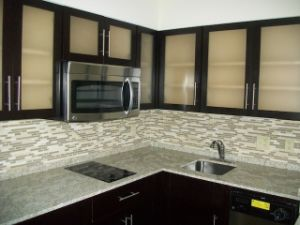 Maple Shaker Door Style Kitchen Cabinets