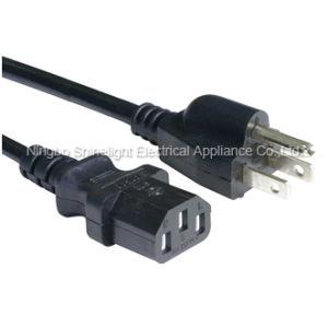 China American Computer Power Cord 5 15p Plug To Iec C13 Mains Lead