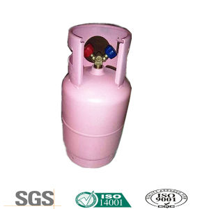 Refrigerant Gas R410A in Double Valve Tped Approved Recyclable Cylinder pictures & photos