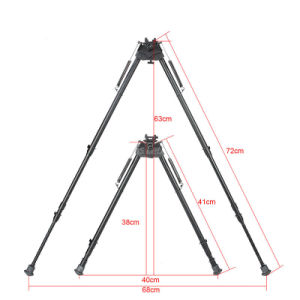 Air Gun Rifle Bipod Outdoor Tactical Aluminum Bipods for Riflescope Bipods pictures & photos
