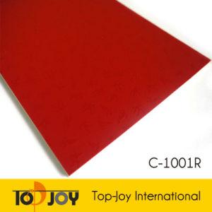 China Plastic Red Vinyl Floor Roll Pvc