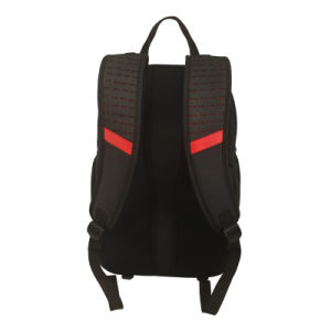 2016 Black Laptop Backpack with Fashion Design pictures & photos