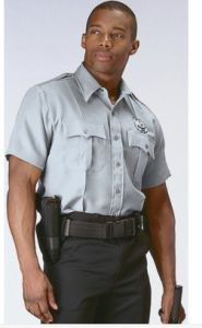Security Uniform of Short Sleeve for Summer (LL-S03) pictures & photos