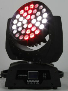 DMX RGBWA 5in1 36X12W Wash Moving Head 36 Zoom pictures & photos