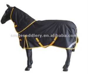 Ripstop Polyester Detachable Neck Horse Equipment (SMR1576) pictures & photos