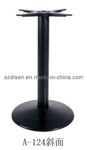 Cast Iron Table Base (DS-P124B)