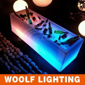 Bar Club Glowing LED Ice Wine Cooler