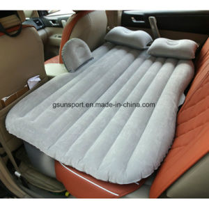 Soft Flocked PVC Fabric for Inflatable Car Travel Air Mattress