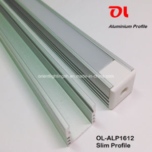 LED Anodised Slim Aluminum Profile (ALP1612) pictures & photos