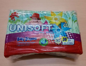 Newly Designed Unisoft Brand Comfortable Baby Diaper (S/M/L/XL)