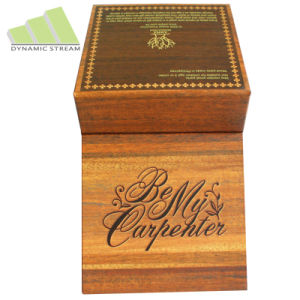 Promotion Gift Box, Wooden Like Paper Box