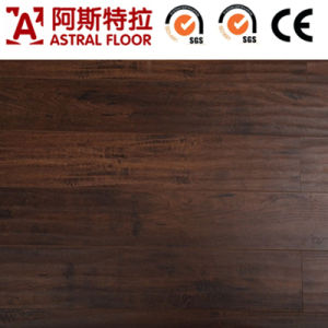 Laminate Flooring /Waterproof Wax 8mm Laminate Flooring (no-Groove) pictures & photos