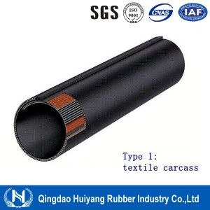 Powder Material Handling Pipe Conveyor Belt
