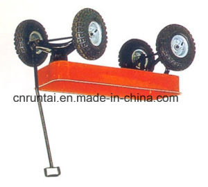 Large Capacious Heavy Duty Garden Trailer Tool Cart pictures & photos