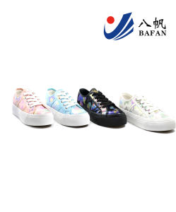 2015 New Arrival Lady′s Fashion Canvas Flat Casual Shoes (bfm0295) pictures & photos
