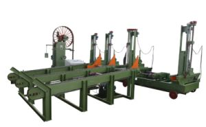 Wood Cutting Vertical Timber and Saw Machine pictures & photos