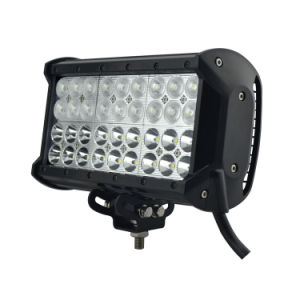 108 W 9 Inch LED Light Bar with CE/RoHS/IP68