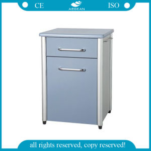Hospital Bedside Cabinet (AG-BC010) Wood Cabinet with One Drawer pictures & photos