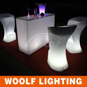 LED Furniture Nightclub Light Stool Bar Chair