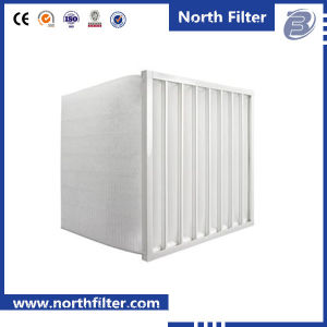 Merv6 Grade Multi Pockets Filter for Office Building