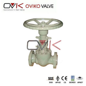 Flange Type Stainless Steel/Carbon Steel Orbit Ball Valve