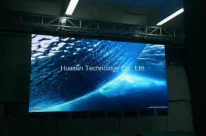 LED Video Curtain with Magnetic Assembly P6 P4 Galaxias Huasun