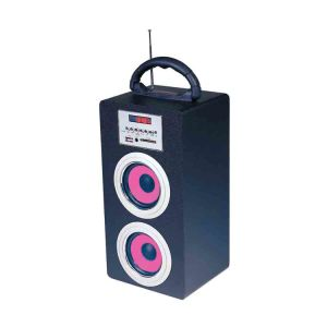 Multifunction Speaker with Am FM Radio, USB/SD/MMC, Aux-in