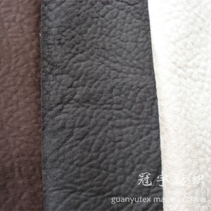 Microfiber Polyester Suede Fabric for Sofa Covers pictures & photos