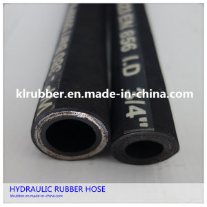 Stainless Steel Wire Braided Industrial Hydraulic Rubber Hose pictures & photos