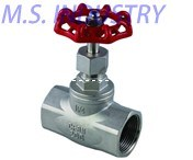200wog Stainless Steel Thread Globe Valve