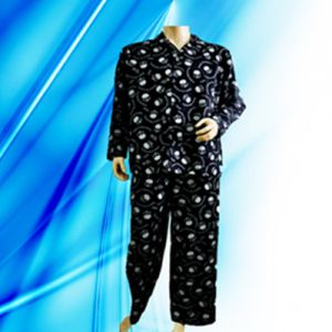 100% Cotton Allover Print Flannel Man′s Pajamas pictures & photos