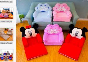 China Plush Kids Sofa Children Chair