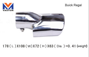 Exhaust/Muffler Pipe for Buick Regal, Made of Stainless Steel 304B pictures & photos