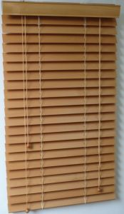 Basswood Venetian Blinds with Manual Inside /Outside for Window Blinds pictures & photos