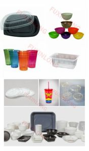 Automatic Disposable Plastic PP/PS/Pet Container Making Machine pictures & photos
