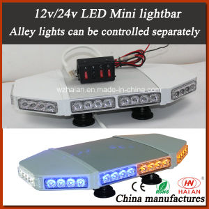 LED Flashing Beacon Mini Lightbar in Separately Control Alley Lights pictures & photos