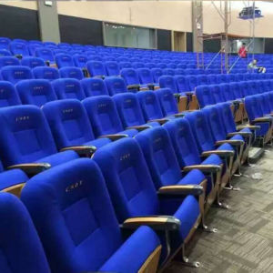 Church Chair Auditorium Seat, Conference Hall Chairs, Push Back Auditorium Chair, Plastic Auditorium Seating, Auditorium Seat (R-6160) pictures & photos