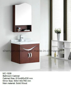 Bathroom Furniture Bathroom Cabinet with Wash Basin (MC-1007) pictures & photos