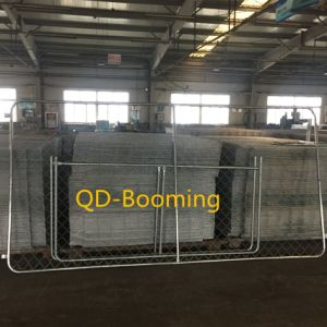 Customized Galvanized Chain Link Temporary Fence (Factory)