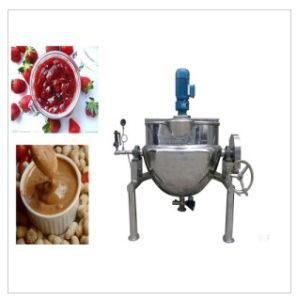 Recommended Hot 50L-600L Stainless Steel Food Jacket Pot