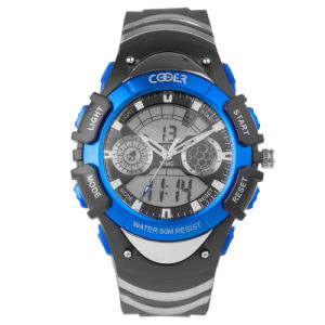 Quartz Digital Sport Watch with RoHS