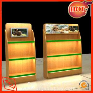 Wooden Display Stand Wooden Display Shelf pictures & photos