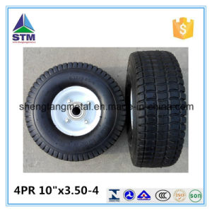 The Highest Quality 4pr 10 Inch 3.50-4 Pneumatic Wheel